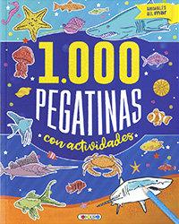 Animales del mar 1000 pegatinas con actividades