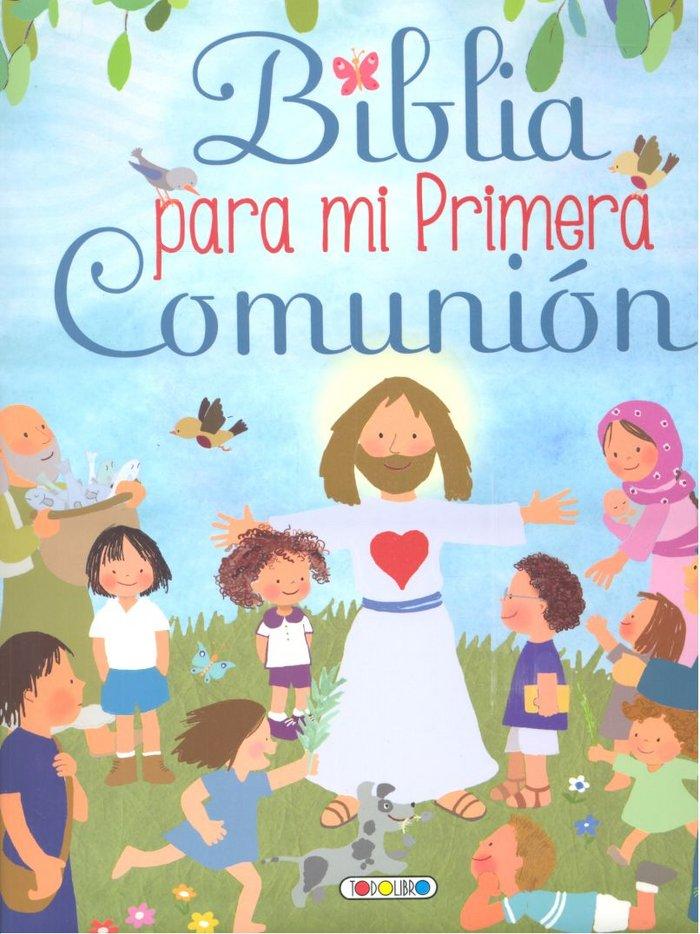 Biblia para mi primera comunion