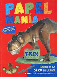 Construye tu dinosaurio papelmania