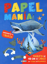 Construye tu tiburon papelmania