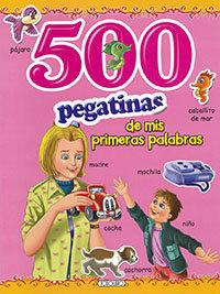 500 pegatinas rosa