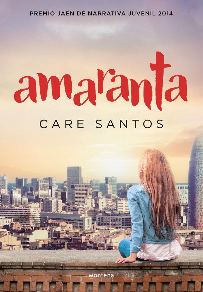 Amaranta premio jaen narrativa juvenil 2014