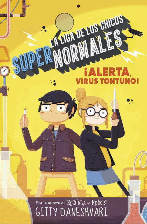 Liga chicos supernormales 2 alerta virus tontuno