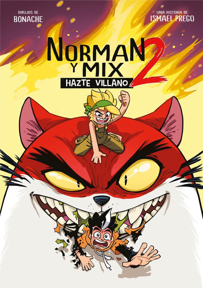 Norman y mix 2 hazte villano