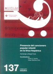 Presencia del cancionero popular infantil en la lirica hispa