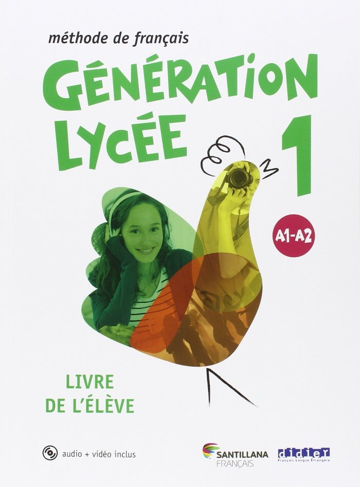 Generation lycee a1/a2 1ºnb eleve+cd 16