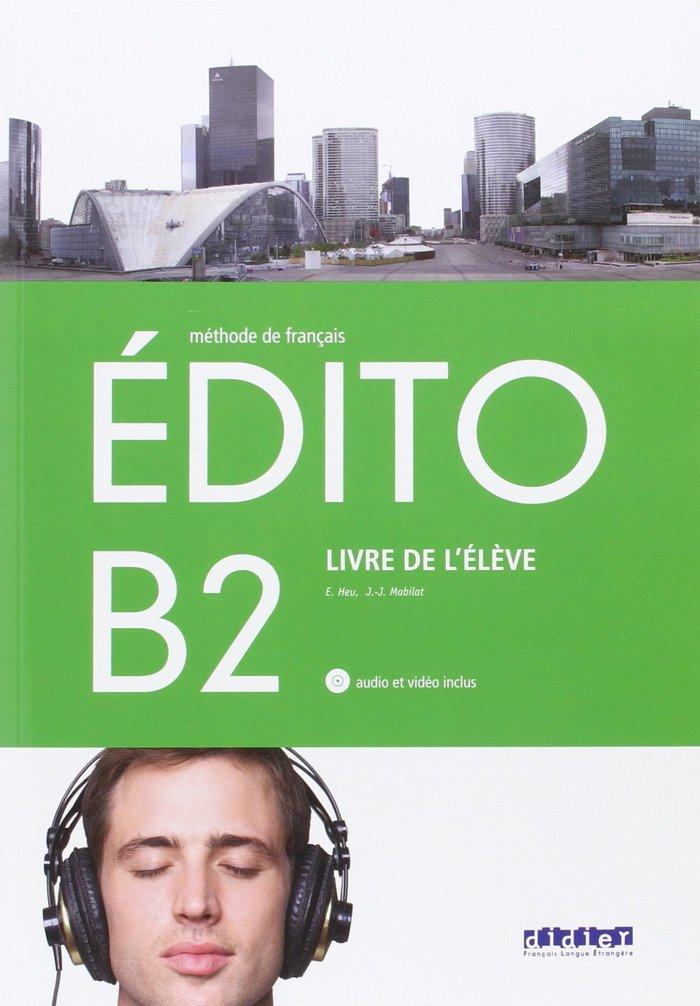 Edito b2 eleve+cd+dvd 16                     sanfr