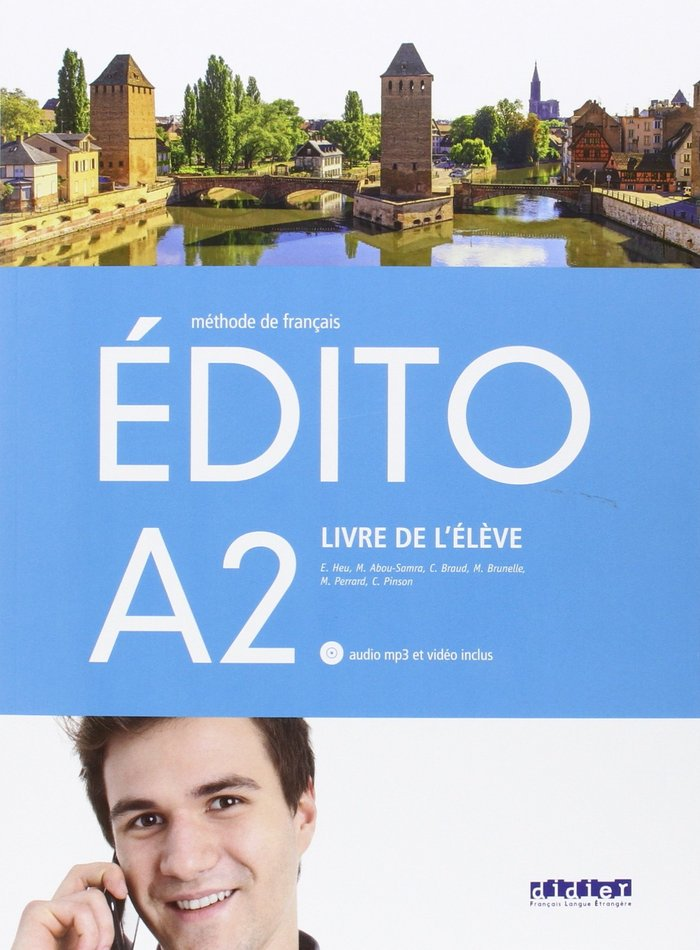 Edito a2 eleve+cd+dvd 16