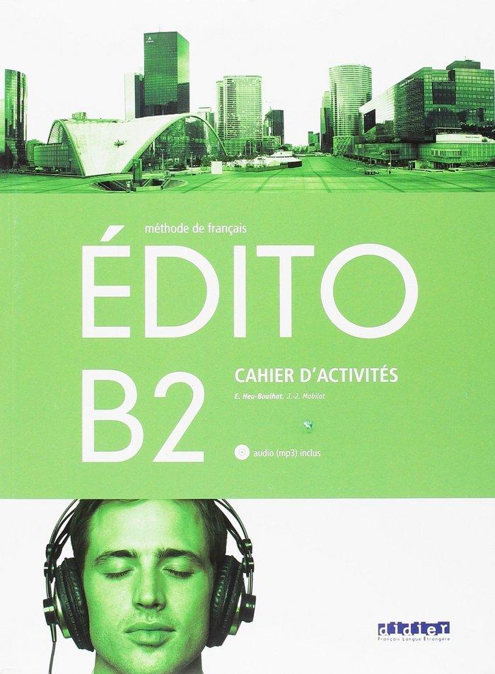 Edito b2 exercices+cd 18