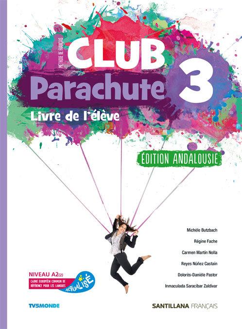 Club parachute 3ºeso pack eleve andalucia 20