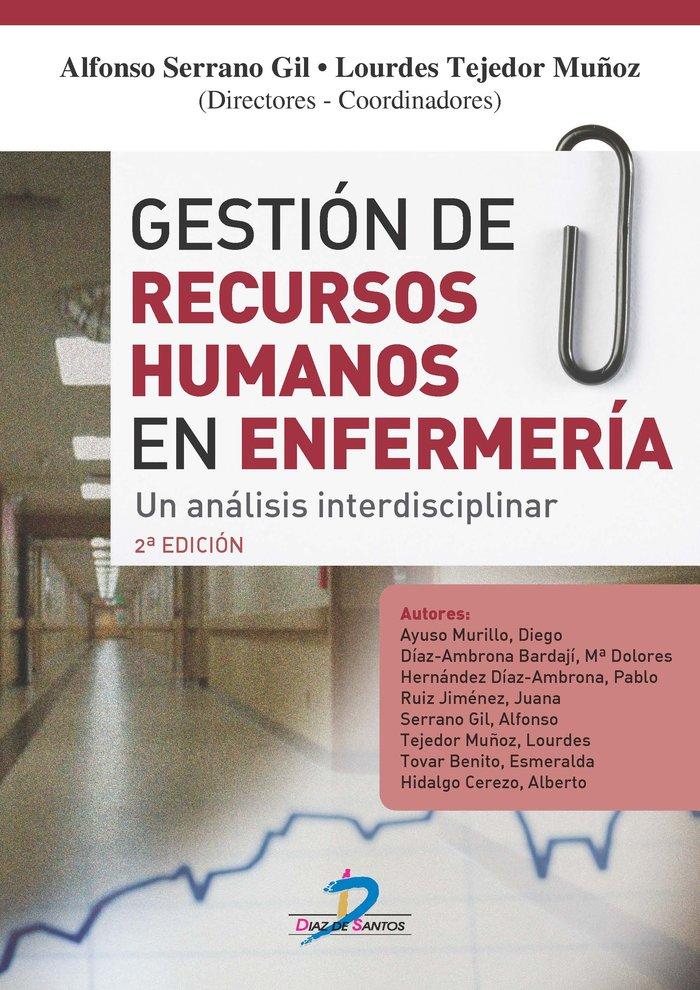 Gestion de recursos humanos en enfermeria.