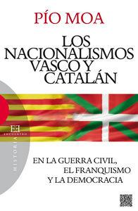 Nacionalismos vasco y catalan,los-en la guerra civil,el fra