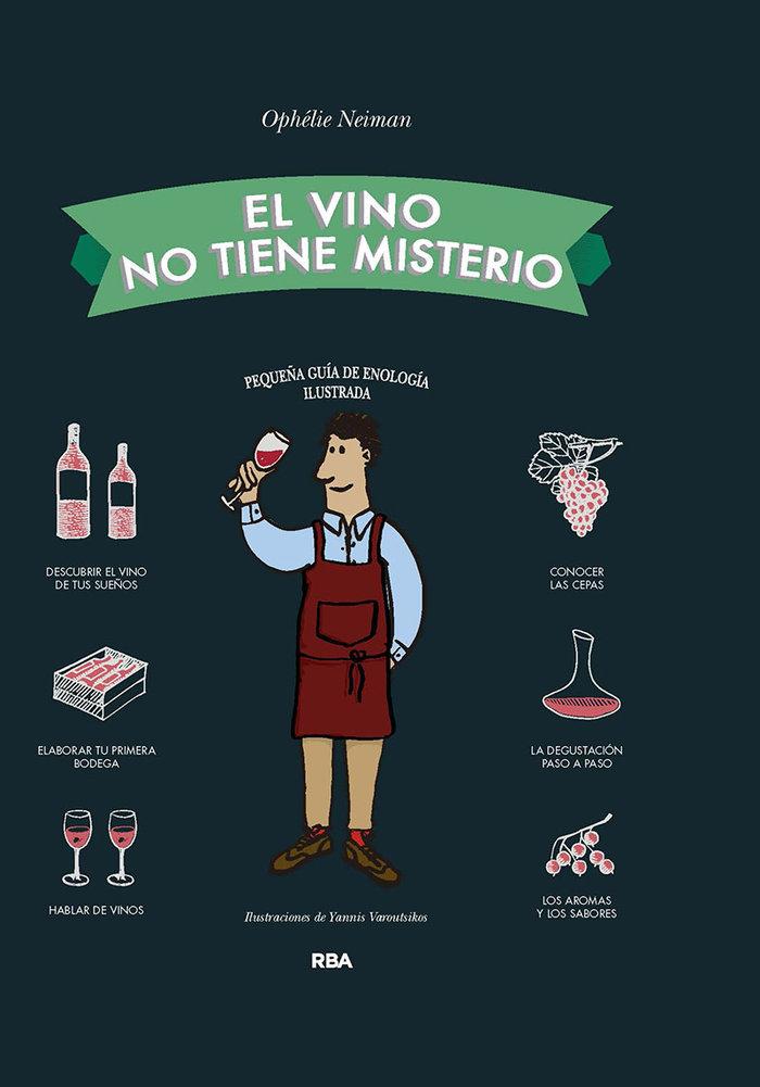 Vino no tiene misterio,el