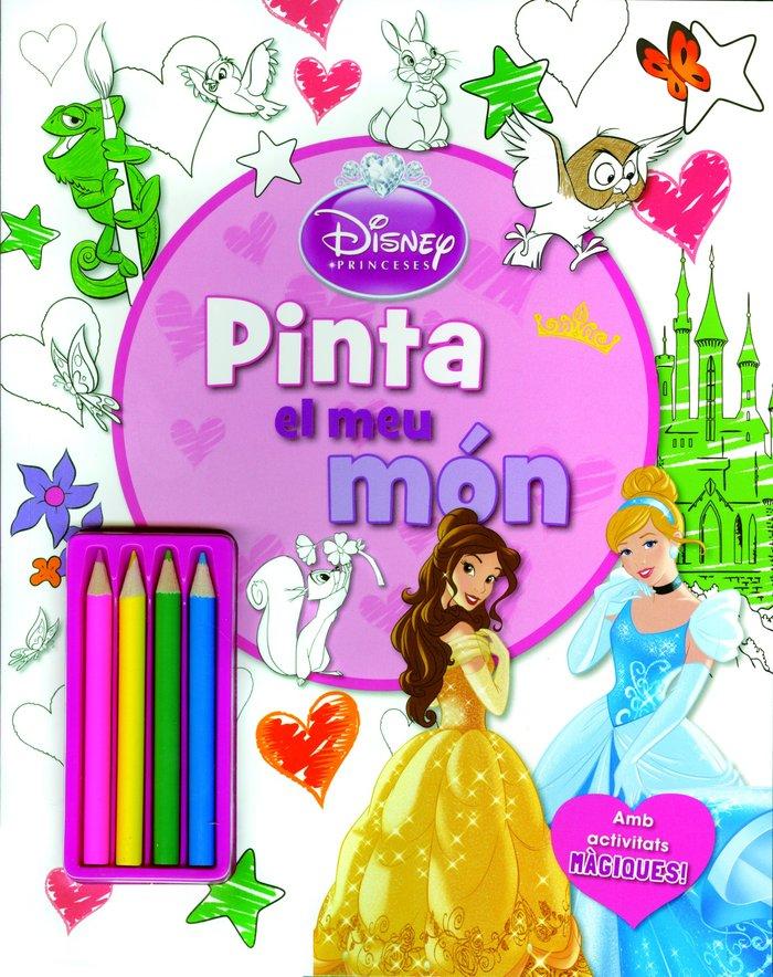 Princeses. pinta el meu mon