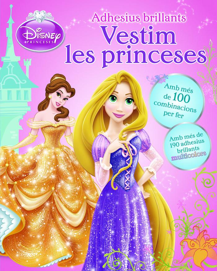 Vestim les princeses. adhesius brillants