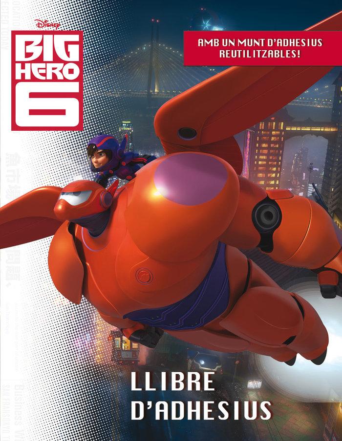 Big hero 6. llibre d'adhesius
