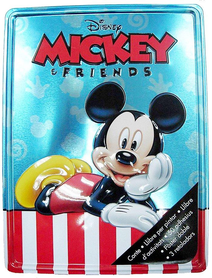 Mickey i els seus amics. caixa metalÚlica