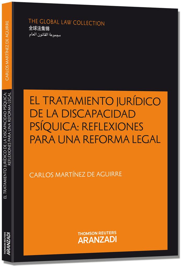 Tratamiento juridico de la discapacidad psiquica reflexione