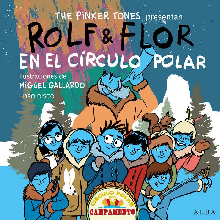 Rolf & flor en el circulo polar