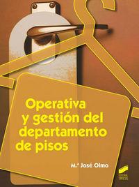 Operativa y gestion del departamento de pisos   o.varias
