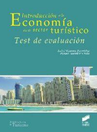 Introduccion a la economia en el sector turistico.test de e