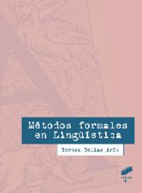 Metodos formales en lingÜistica