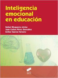 Inteligencia emocional en educacion