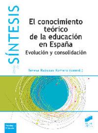 Conocimiento teorico de la educacion es españa, el