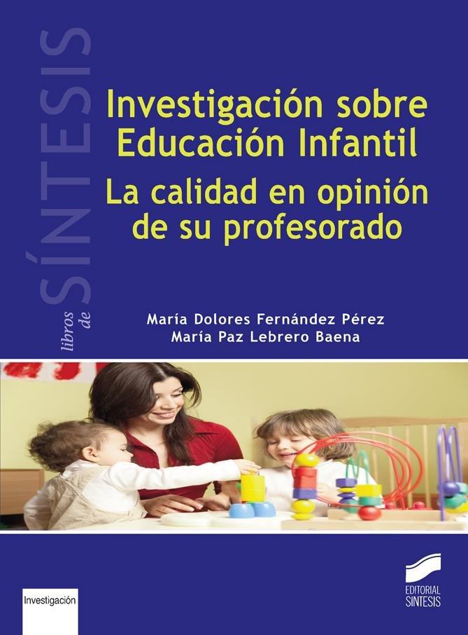 Investigacion sobre educacion infantil