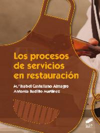 Procesos de servicios en restauracion, los