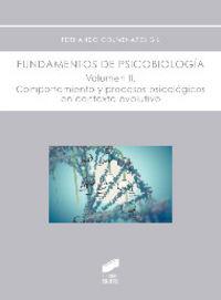 Fundamentos de psicobiologia vol.ii