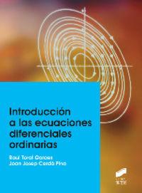 Introduccion a las ecuaciones diferenciales ordinarias