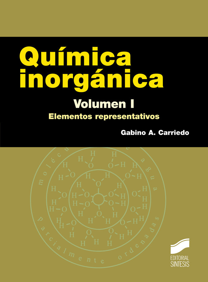 Quimica inorganica. volumen i