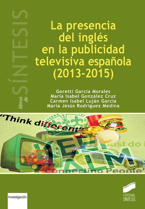 Presencia del ingles en la publicidad televisiva española (2