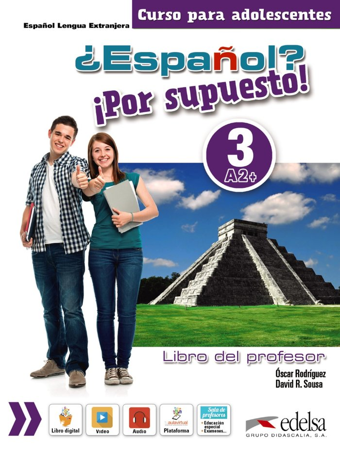 Español por supuesto 3 a2+ libro del profesor