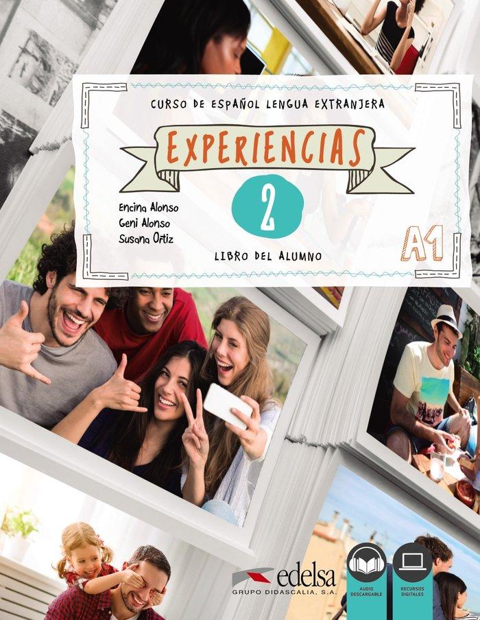 Experiencias 2 nivel a1 libro del alumno