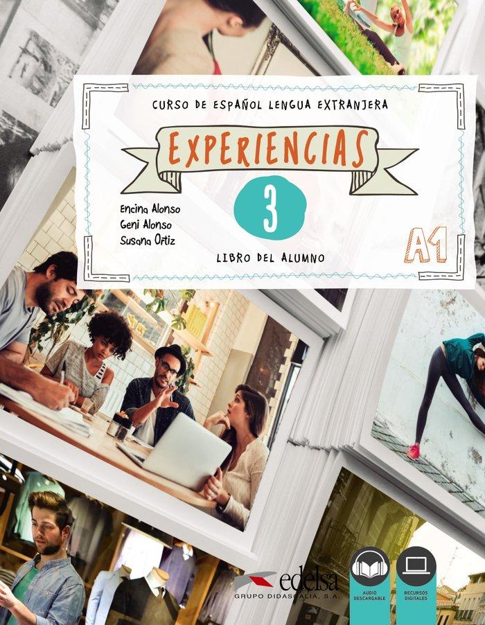 Experiencias 3 nivel a1 libro del alumno
