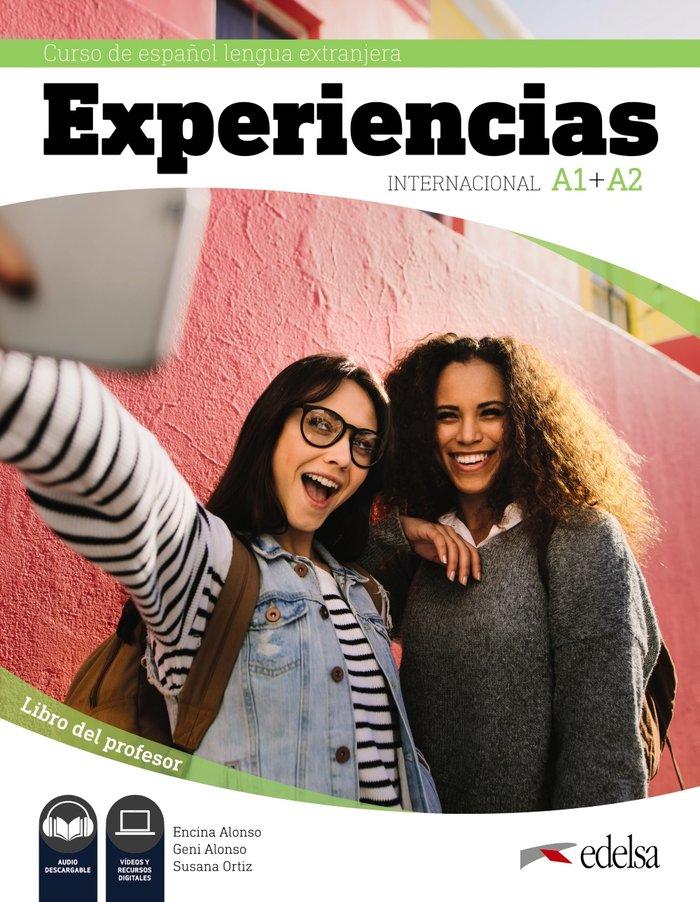 Experiencias internacional a1 y a2 libro
