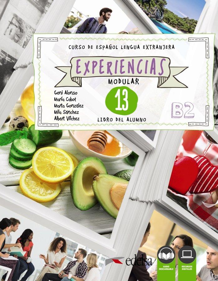 Experiencias 13 b2 libro del alumno