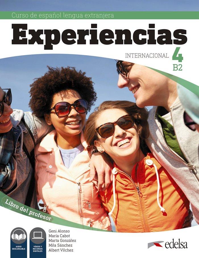 Experiencias internacional 4 b2 libro del