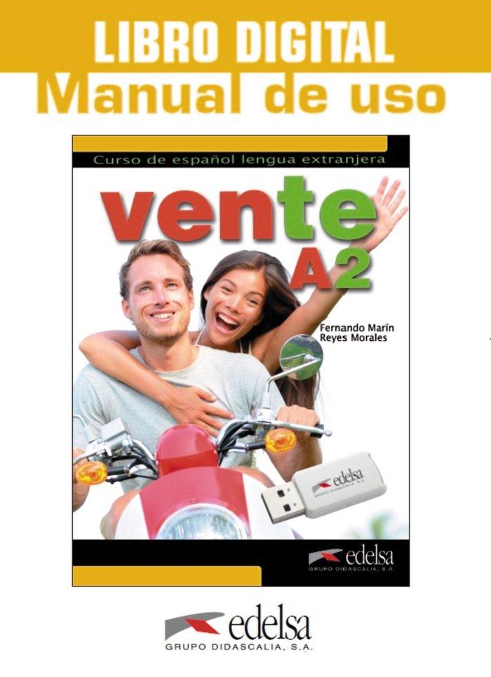 Vente a2 libro digital y manual de uso