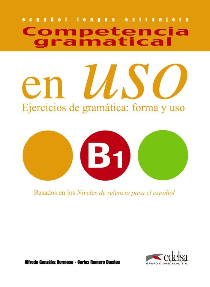 Competencia gramatical uso b1 alumno ne