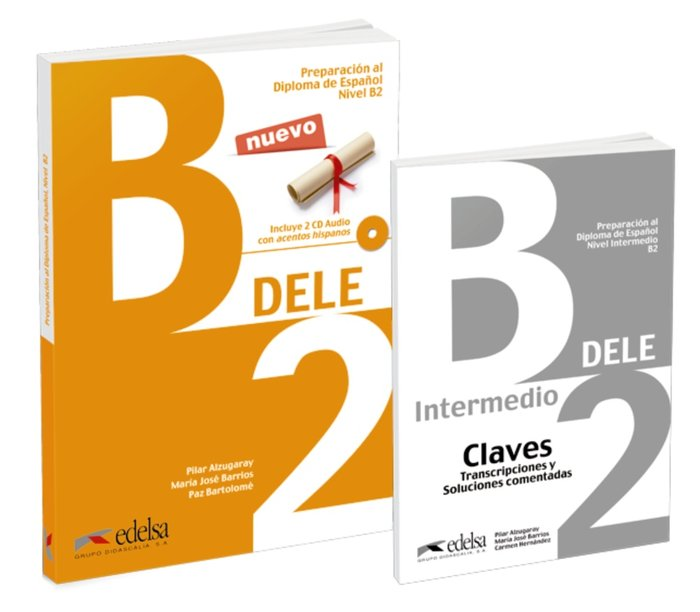 Pack dele b2 - libro + claves