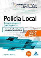 Policia local extremadura v 2 parte especifica