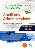 Auxiliares administrativos de corporaciones locales de andal