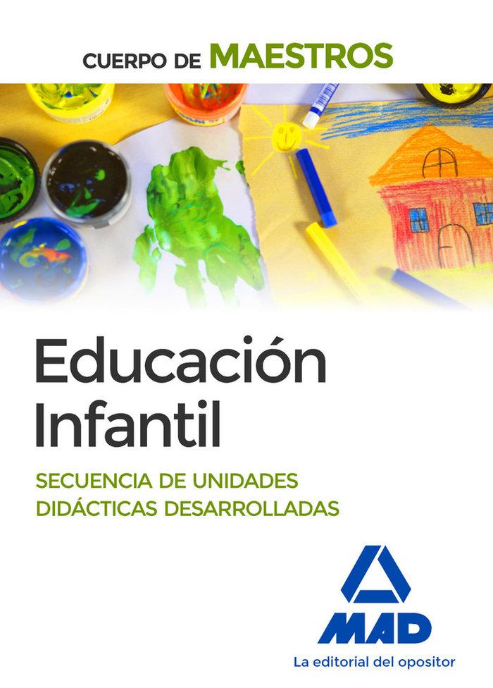 Educacion infantil cuerpo de maestros ne secuencias unidade