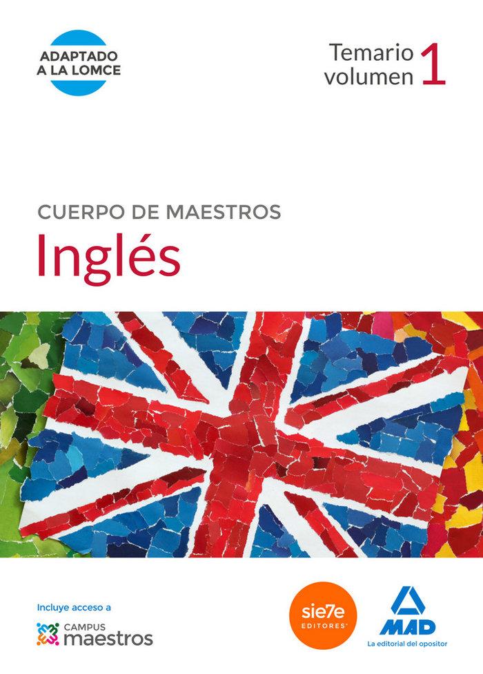 Cuerpo de maestros ingles 2014 vol 1