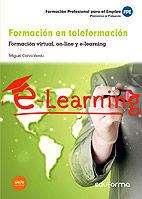 Formacion en teleformacion. formacion virtual, on-line y e-l