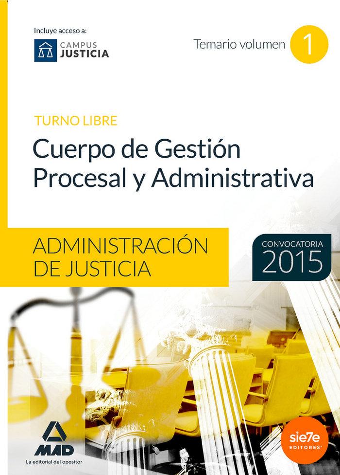 Cuerpo gestion procesal y administrativa administrativa 1