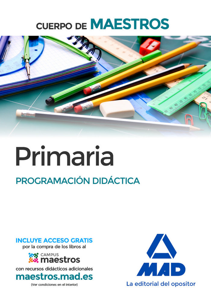 Cuerpo maestros ed.primaria programacion didactica